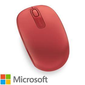 תמונה של עכבר אלחוטי מיקרוסופט 1850 אדום