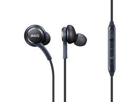 תמונה של אוזניות AKG מקוריות עם סיליקון, כולל כפתורי מענה/ניתוק ווליום סמסונג